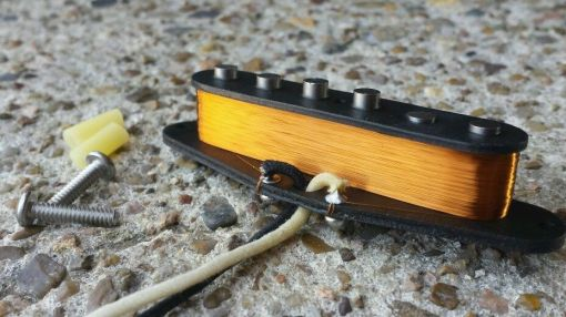 CMD Handwound CS 59 Neck pup for SRV Stratocaster