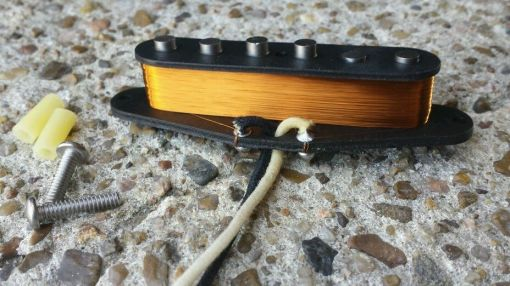 CMD Handwound CS 59 Neck pup for SRV Stratocaster2
